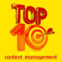 Top Ten Content Management